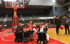 「ALS」患者さんや分身ロボット「オリヒメ」と、千葉ジェッツふなばしでのBリーグ「車椅子観戦ツアー」を実施しました!