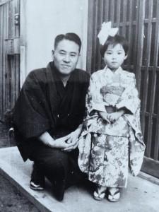 父との写真